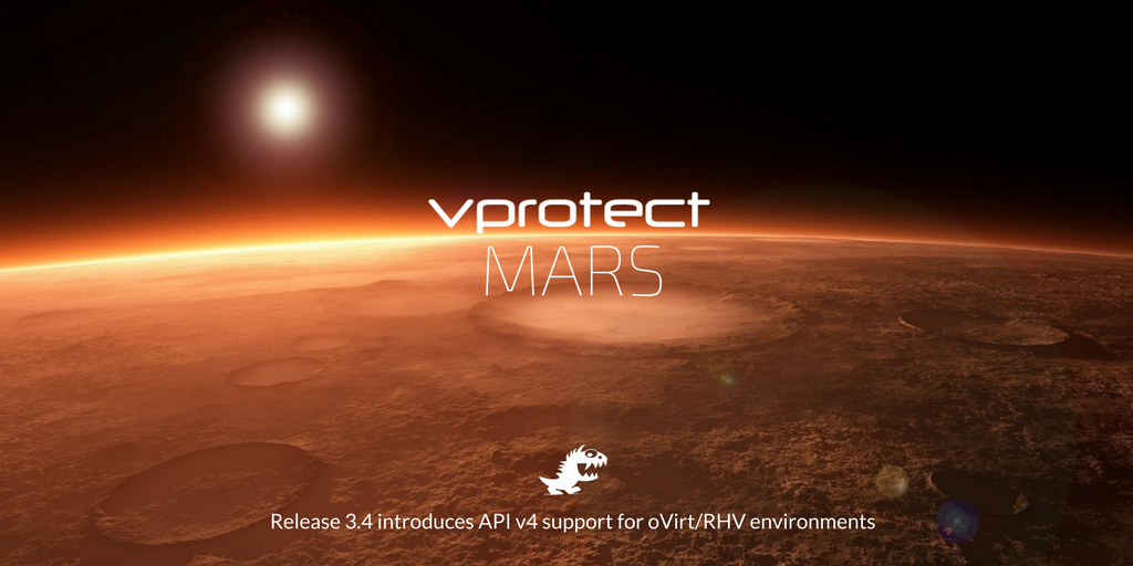 vProtect 3 4 release (Mars) – what's new? - Storware