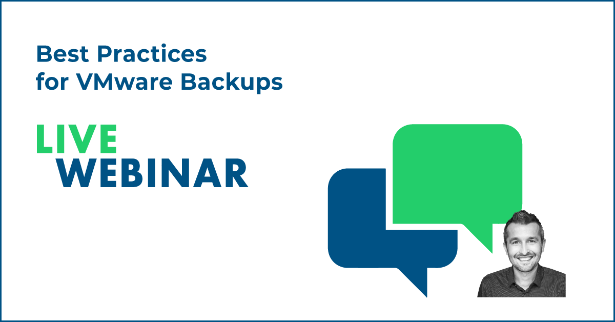 Best Practices for VMware Backups
