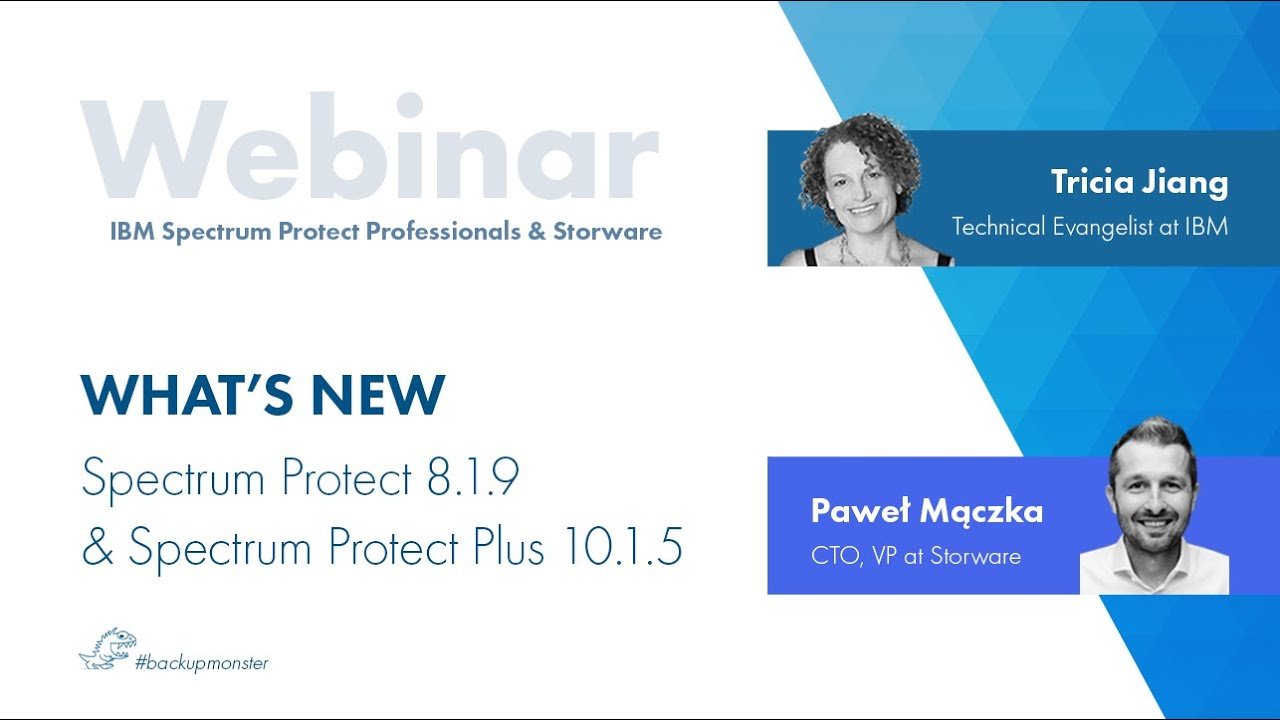 IBM Spectrum Protect 8.9.1 and Spectrum Protect Plus 10.1.5 – what's new?