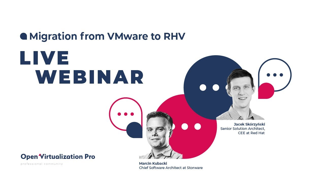 Migration from VMware to Red Hat Virtualization