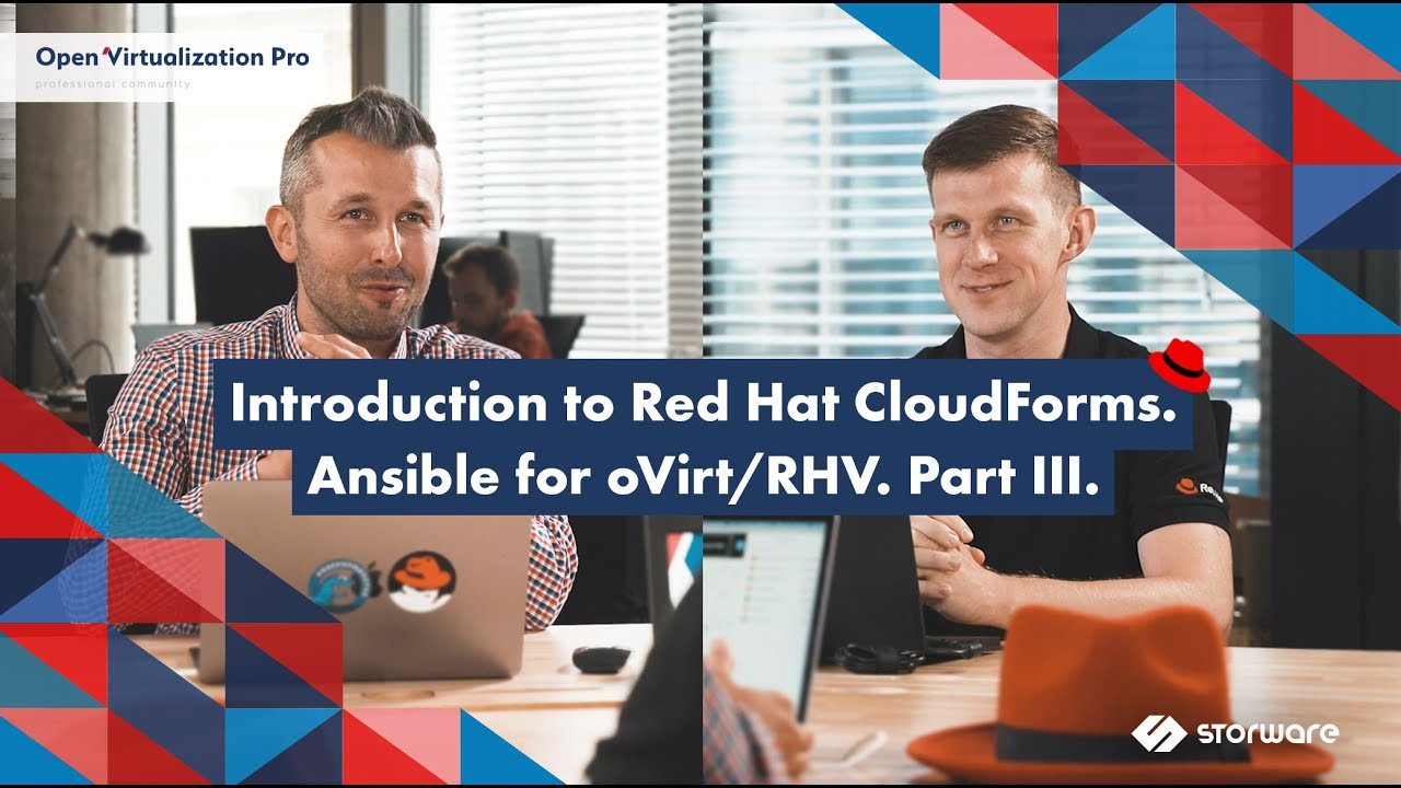 What is Red Hat CloudForms? Ansible for oVirt/RHV – Part III