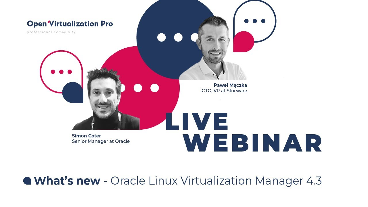 What's new – Oracle Linux Virtualization Manager 4.3