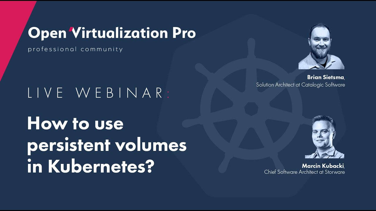 How to use persistent volumes in Kubernetes?