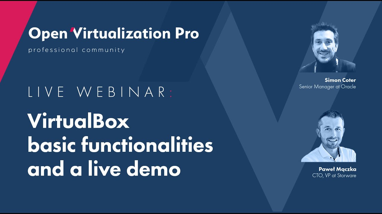Oracle VirtualBox | Basic functionalities and live demo