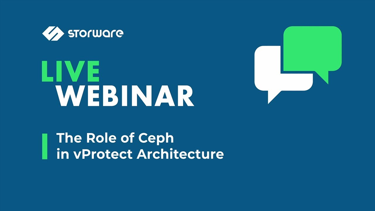 The Role of Ceph in vProtect Architecture and in Red Hat Products