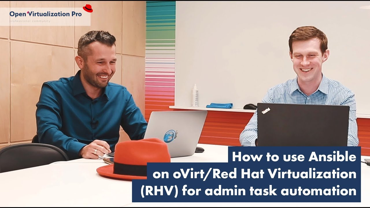 How to use Ansible on oVirt/Red Hat Virtualization (RHV) for admin task automation