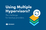 Using not just one type of hypervisor? A challenge for backup providers