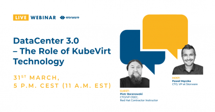DataCenter 3.0 The Role of KubeVirt Technology