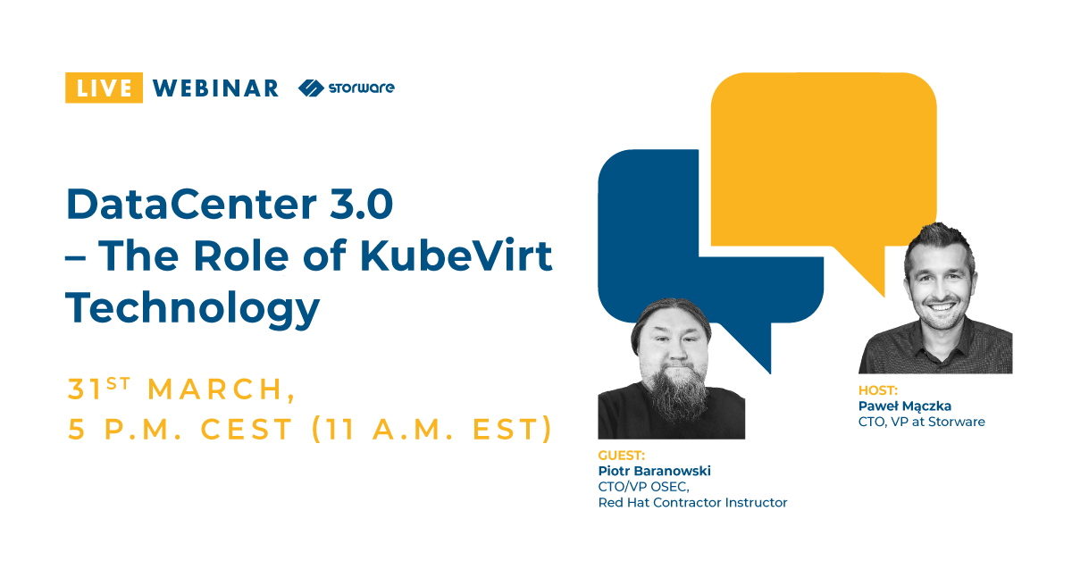 DataCenter 3.0 The Role of KubeVirt Technology