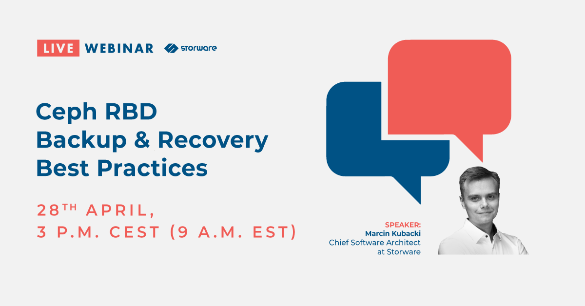 Ceph RBD Backup & Recovery Best Practices