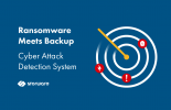 Ransomware meets Backup – Cyber Attack Detection System